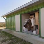Deposito mobili pavimentazione con isolamento