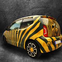 Il Car Wrapping permette di modificare la carrozzeria di una macchina senza vernice.