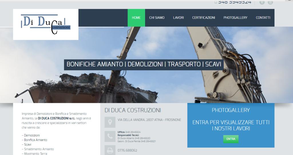 Ditta di Trasporto Macerie e Demolizioni Scavi Lazio